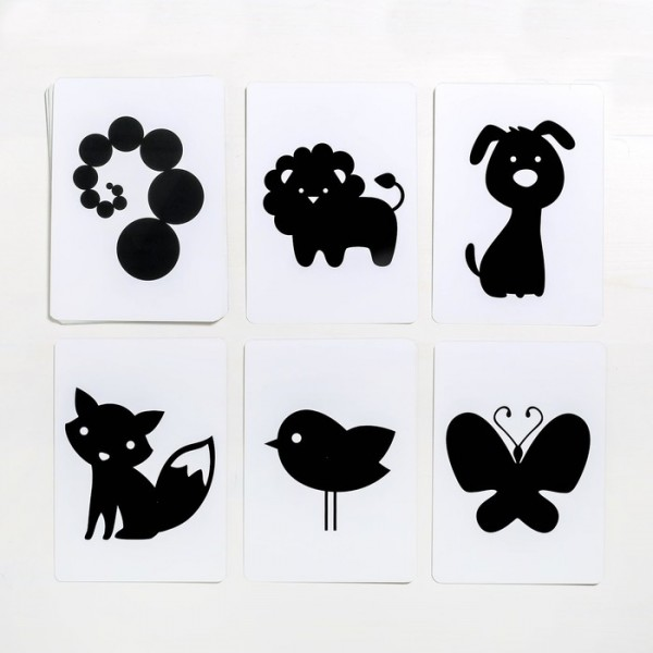 Черно-белые картинки Макси