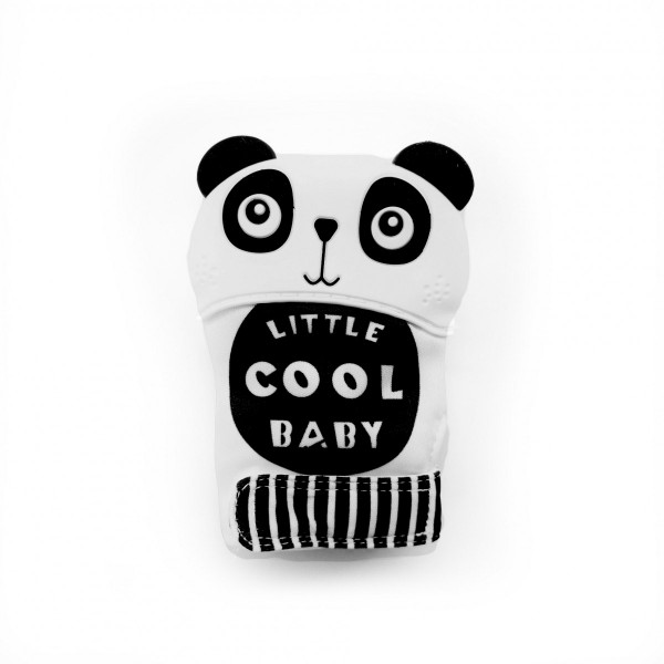 Прорезыватель-перчатка Панда