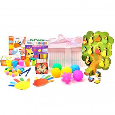 Набор развивающих игрушек GENIUS girl 1 год