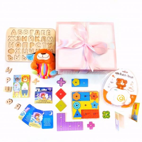 Набор развивающих игрушек lollybox GENIUS girl 2 года