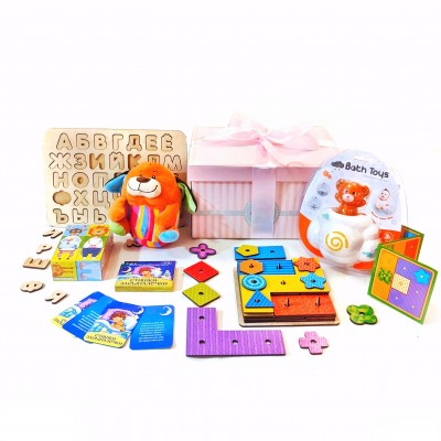 Набор развивающих игрушек GENIUS girl 2 года