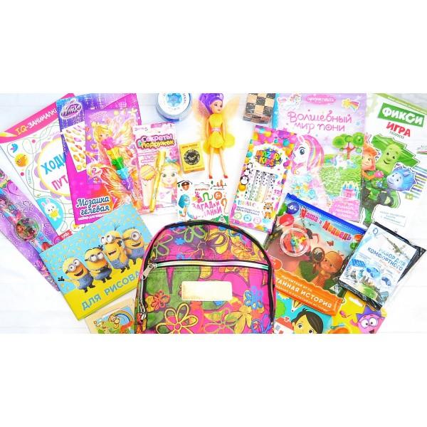 Рюкзачок с играми для девочек lollybox travel girl