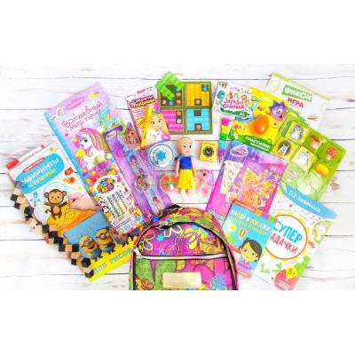 Рюкзачок с играми для девочек travel girl 3-7 лет