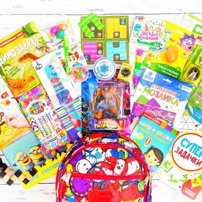Рюкзачок с играми для мальчиков lollybox travel boy 3-7 лет