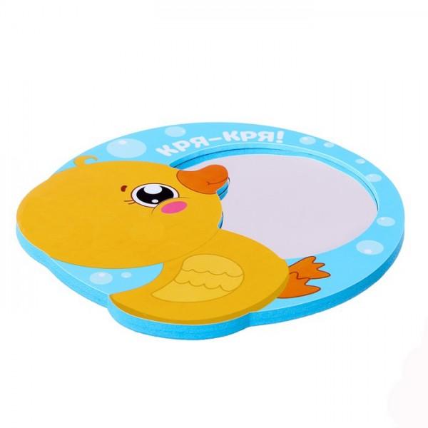 Мягкое зеркало для ванны Утенок